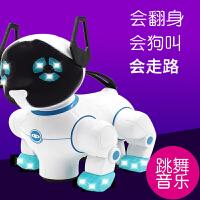 仿真狗充电动小狗狗玩具会走路唱歌会叫男女孩儿童益智能机器音乐