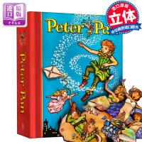 小飞侠立体书 彼得潘立体书 Peter Pan: A Classic Collectible Pop-Up 迪士尼经典