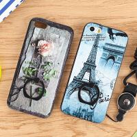 苹果5 iPhone5 5s 5se 卡通 手机壳 手机套 保护壳 保护套 指环壳 全包 浮雕 挂绳 指环扣 防摔硬壳