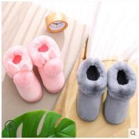 冬季棉拖鞋女款包跟厚底情侣家居室内毛拖鞋冬天保暖防滑棉鞋