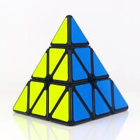 圣手传奇智慧金字塔魔方异形比赛专用三角形魔方配教程 儿童小学生异型益智玩具