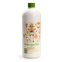 美国Babyganics甘尼克宝贝 天然奶瓶清洁液 柑橘型 补充装