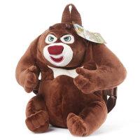 熊出没儿童书包可爱卡通男女童幼儿园小班 宝宝双肩背包熊大熊二