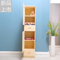 实木单门组装衣柜松木两门卧室衣柜单人储物柜带抽屉经济型定制 2门