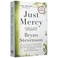 正义的慈悲 美国司法中的苦难与救赎 英文原版 Just Mercy 进口法律书 布莱恩史蒂文森 Bryan Steven