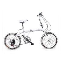 英菲力尔 小跑车 20寸变速折叠山地自行车 山地车 折叠车