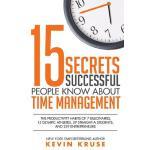 【预订】15 Secrets Successful People Know about Time Management