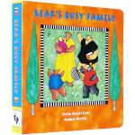 英文原版 Bear's Busy Family 比尔熊忙碌的一家 纸板书 Barefoot