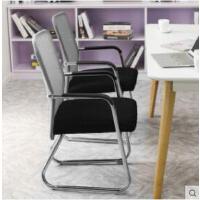 电脑椅家用舒适办公椅子网布靠背职员会议椅现代简约弓形椅