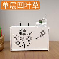 隐藏整理墙上方形电线收纳盒桌面免电视柜多功能插座网线绕线器