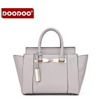 【2件99元】DOODOO包包女上新2019新款潮韩版百搭女士手提包D6122