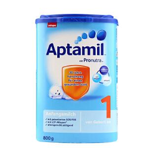 【当当海外购】德国进口 Aptamil爱他美 婴幼儿配方奶粉 1段800g(0-6个月 )
