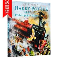 现货正版 英文原版 Harry Potter and the Philosopher's Stone 1 哈利波特与魔