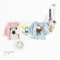 2018新款男童女童洋气时尚外套宝宝春装婴儿纯棉空调衫0透气1-3岁