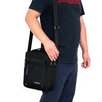 2018新款男包韩版防水尼龙牛津布单肩斜跨手提背包商务休闲男士包