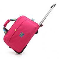 尼龙拉杆箱包可折叠旅游手提牛津布帆布包袋时尚男女旅行李登机箱