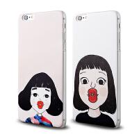 【全国包邮】hidog 苹果iPhone6手机壳4.7女磨砂浮雕6plus手机套硬5s个性外壳