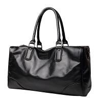 男士旅行包商务手提包健身包登机袋短途旅游包出差行李包大容量 黑色 6056黑色 中