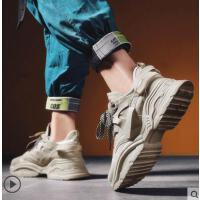 新款ins超火的鞋子男韩版潮流百搭运动休闲鞋内增高潮鞋户外新品网红同款