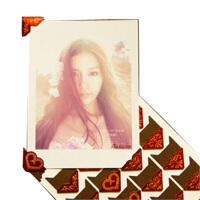 【红色烫金角贴 买1送1】拍立得相纸适用照片装饰角贴/照片必备贴角/墙贴 可以把照片固定在相册、书本、日记本、或者是墙面上