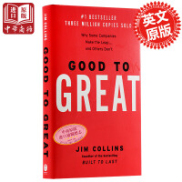 【中商原版】英文原版 从优秀到卓越 Good to Great: Why Some Companies Make the Leap