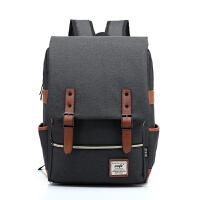 笔记本电脑包双肩15.6寸14男女书包背包双肩包适合戴尔苹果华硕SN5563