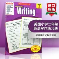 华研原版 美国小学二年级英语写作练习册 全英文版学乐进口原版英语教材 Scholastic Success with