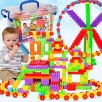 【限时抢】儿童大号颗粒塑料积木益智早教拼装插积木 玩具儿童益智玩具