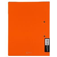 Comix/齐心 A825 文具塑料资料册文件夹A4轻便长押夹
