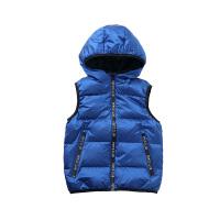 【2件5.5折到手价:130】小猪班纳童装男童羽绒马甲冬季新款儿童带帽外套中大童羽绒背心