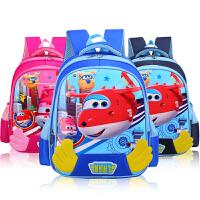 幼儿园书包4-5-6岁中大班学前班儿童男孩可爱卡通女童背包男宝宝3 8198深蓝小号 幼儿园