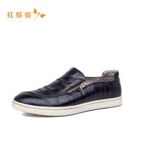 红蜻蜓男鞋商务皮鞋正装潮鞋子韩版男鞋舒适时尚休闲鞋
