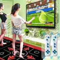 2015新款电视电脑两用家用家居室内休闲游戏跳舞毯手舞足蹈无线体感加厚双人跳舞毯减肥跳舞机