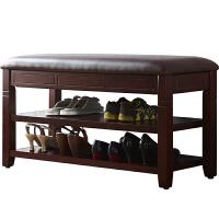 换鞋凳鞋柜穿鞋凳门口换鞋凳鞋凳式鞋柜收纳凳储物凳换鞋凳家用
