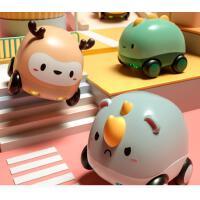 儿童玩具车宝宝婴儿声光助力惯性车回力小汽车套装