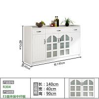 欧式餐边柜现代简约酒柜碗柜家用厨房柜子储物柜置物柜茶水柜
