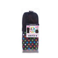 国誉(KOKUYO)PC42-2 可站立笔袋/变身笔筒文具盒 中号 波点�\当当自营