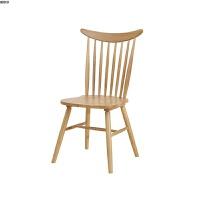 北欧温莎椅白橡木椅子用椅简约休闲椅靠背椅子电脑椅实木餐椅