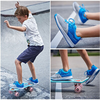 【大满减】鸿星尔克童鞋儿童运动鞋男童鞋女童鞋儿童鞋清凉透气儿童网面柔软弹性防滑运动休闲鞋