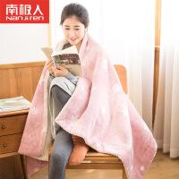 南极人安全电热毯调温防水单人双人电褥子暖身毯护膝毯