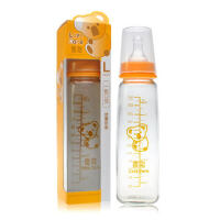 喜多奶瓶 标准口径玻璃奶瓶 婴儿奶瓶240ml 宝宝奶瓶 新生儿用品