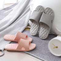 日式夏季情侣浴室拖鞋女夏软底洗澡男女家居家用室内四季凉拖鞋