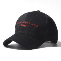 韩版青少年学生女鸭舌帽街头百搭潮遮阳帽棒球帽男嘻哈帽帽子