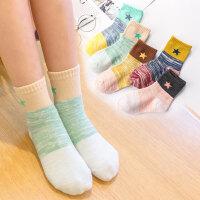 儿童袜子纯棉秋冬季加厚童袜男童女童宝宝棉袜中大童中筒婴儿袜子