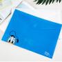 广博2只装A4粘扣文件袋学生卡通资料袋 迪士尼唐老鸭颜色随机IQT17400
