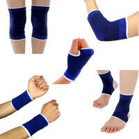 护具护膝护肘套装加厚海绵男女运动护具部队训练儿童篮球护腕护踝护掌高分子五件套