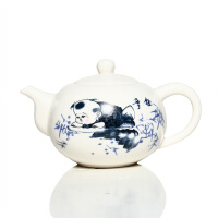 尚帝茶具 青花瓷 玉瓷手绘 茶壶 功夫茶具配件零配 陶瓷茶壶 童趣 DPCHTTQ1
