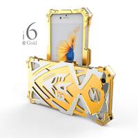 IPHONE6 6s 6PLUS 手机壳/手机套/保护壳/保护套 防摔套男女潮款 雷神2 闪电侠 变形金刚 航空铝材质