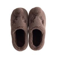 韩版加厚大码家居厚底棉拖鞋男士居家室内保暖棉拖鞋情侣防滑