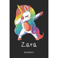 【预订】Zara - Notizbuch: Individuelles personalisiertes M?dche